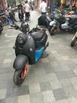 Deze scooter is dus gestolen maar de nieuwe lijkt er best wel op, weten jullie dat ook weer.